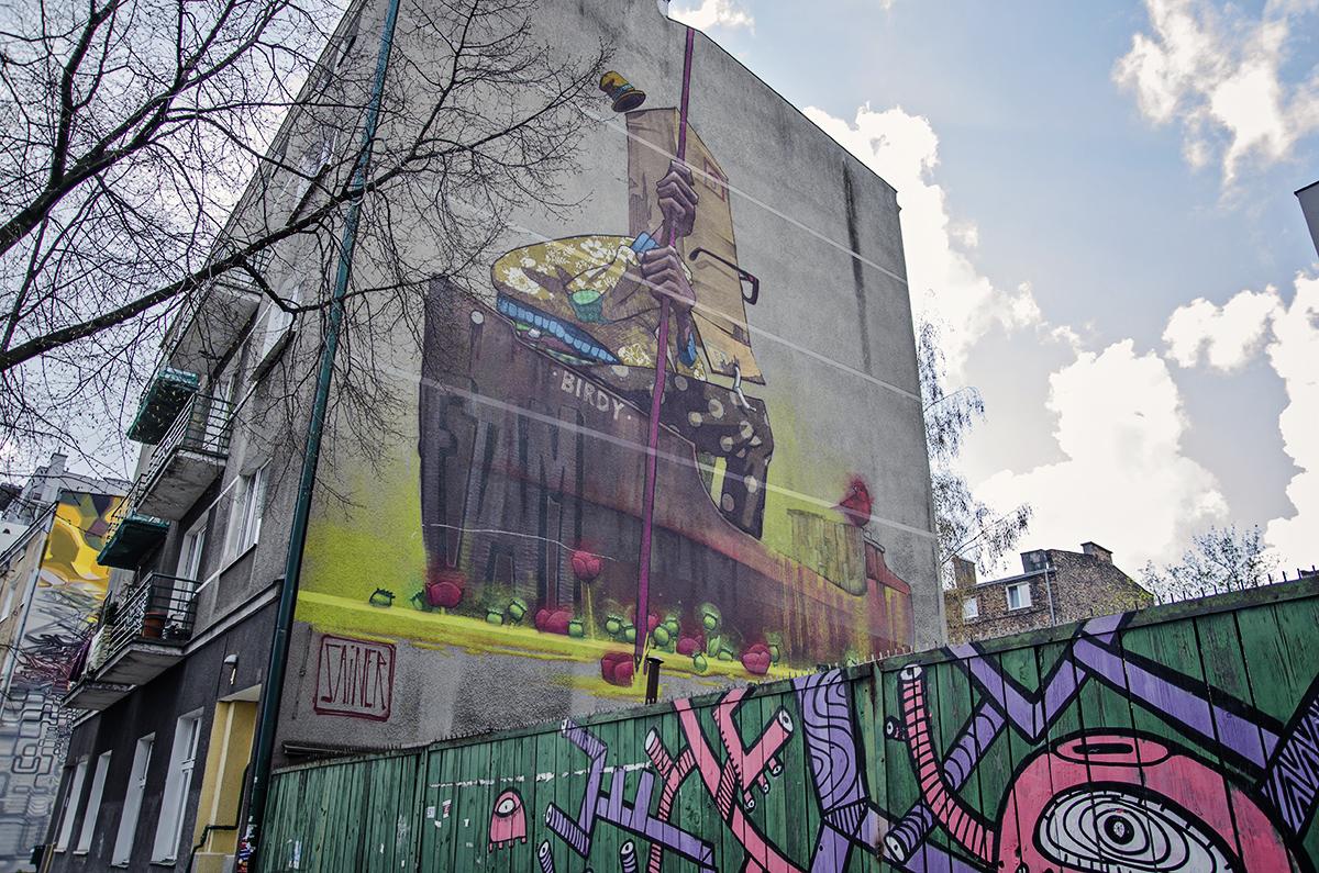murale traffic design