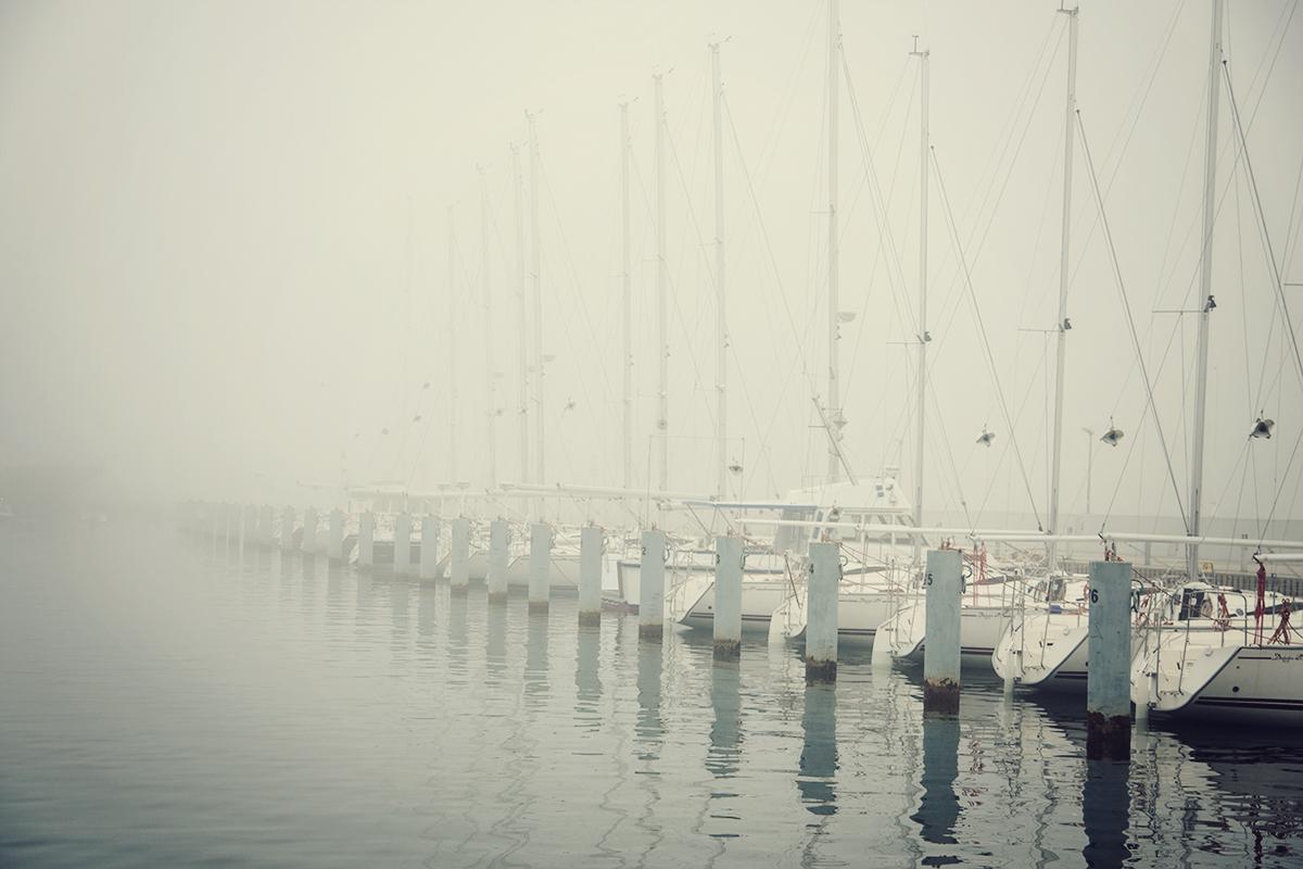gdynia we mgle