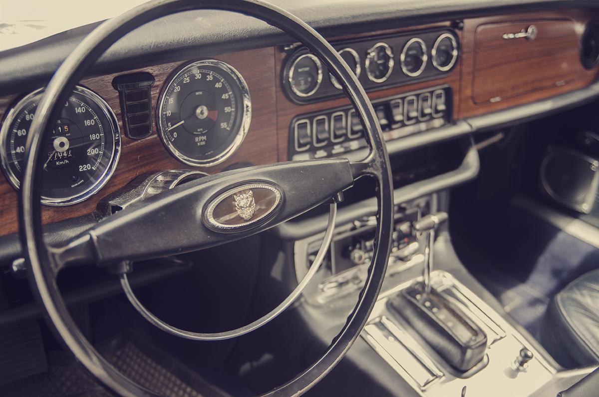 Jaguar kierownica