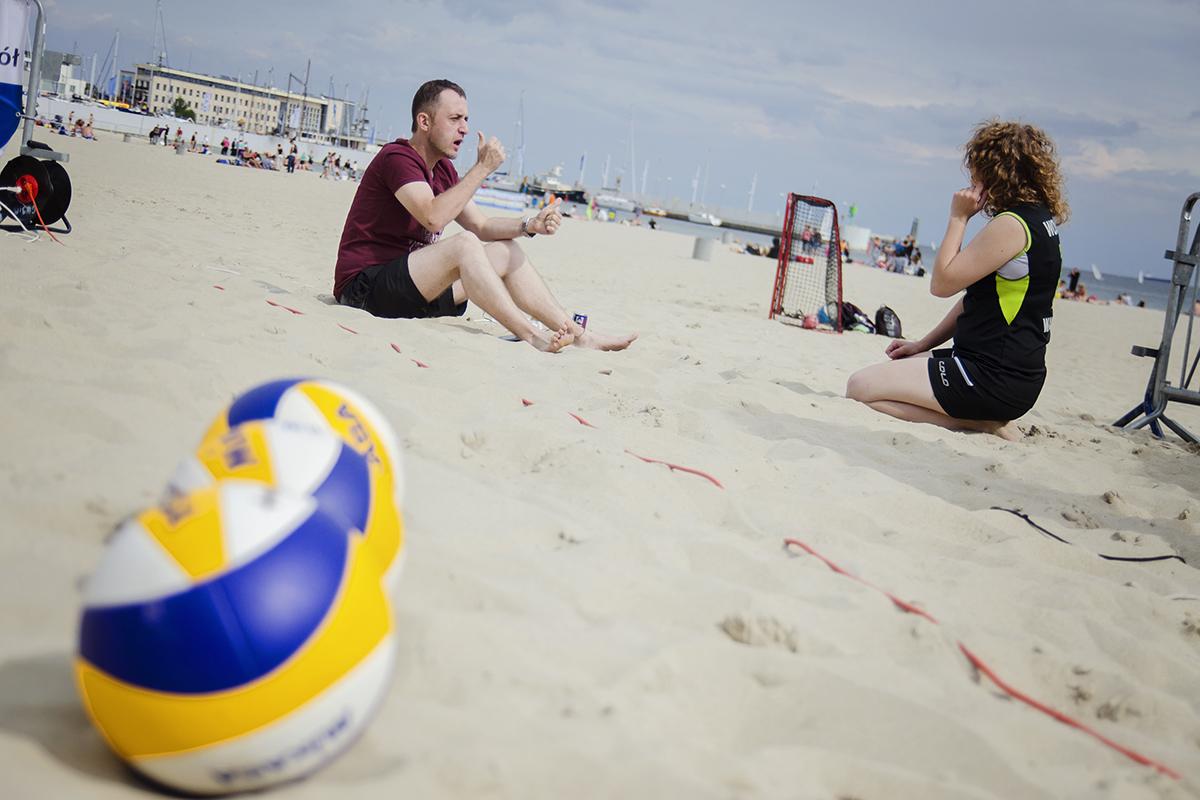 rozmowa na plazy