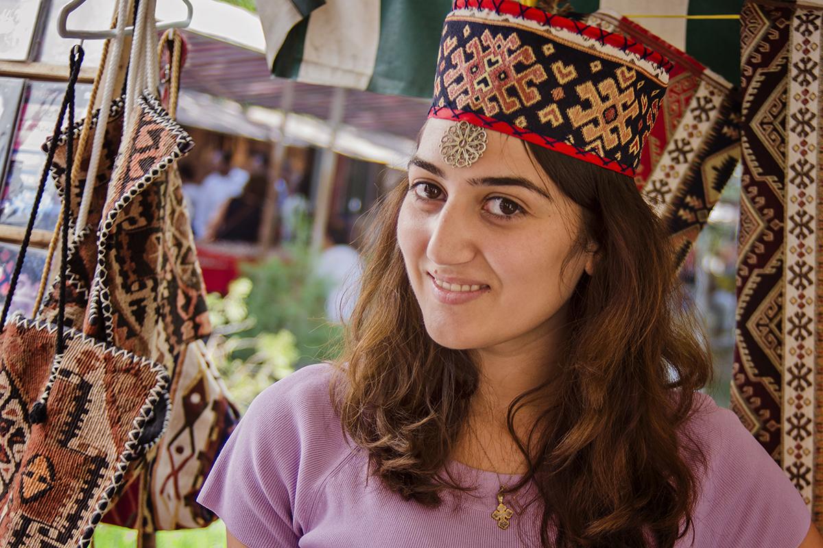 ormianska dziewczyna portret