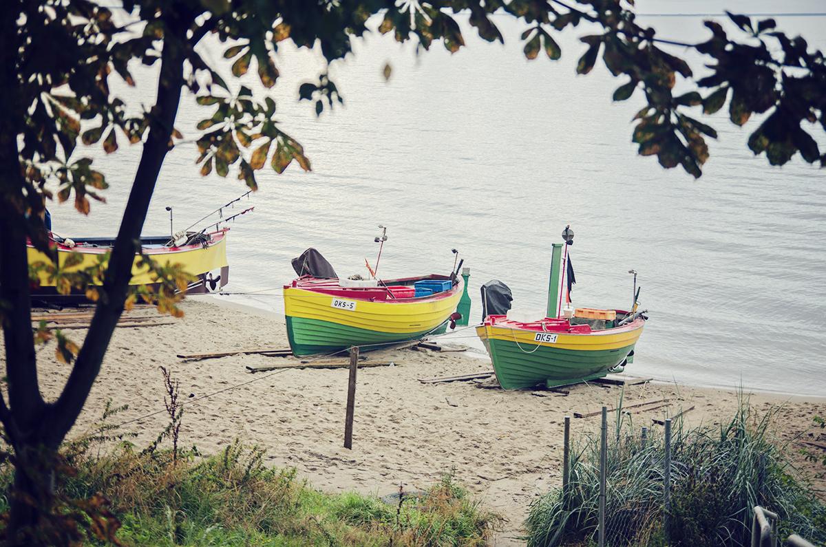 Lodzie rybackie