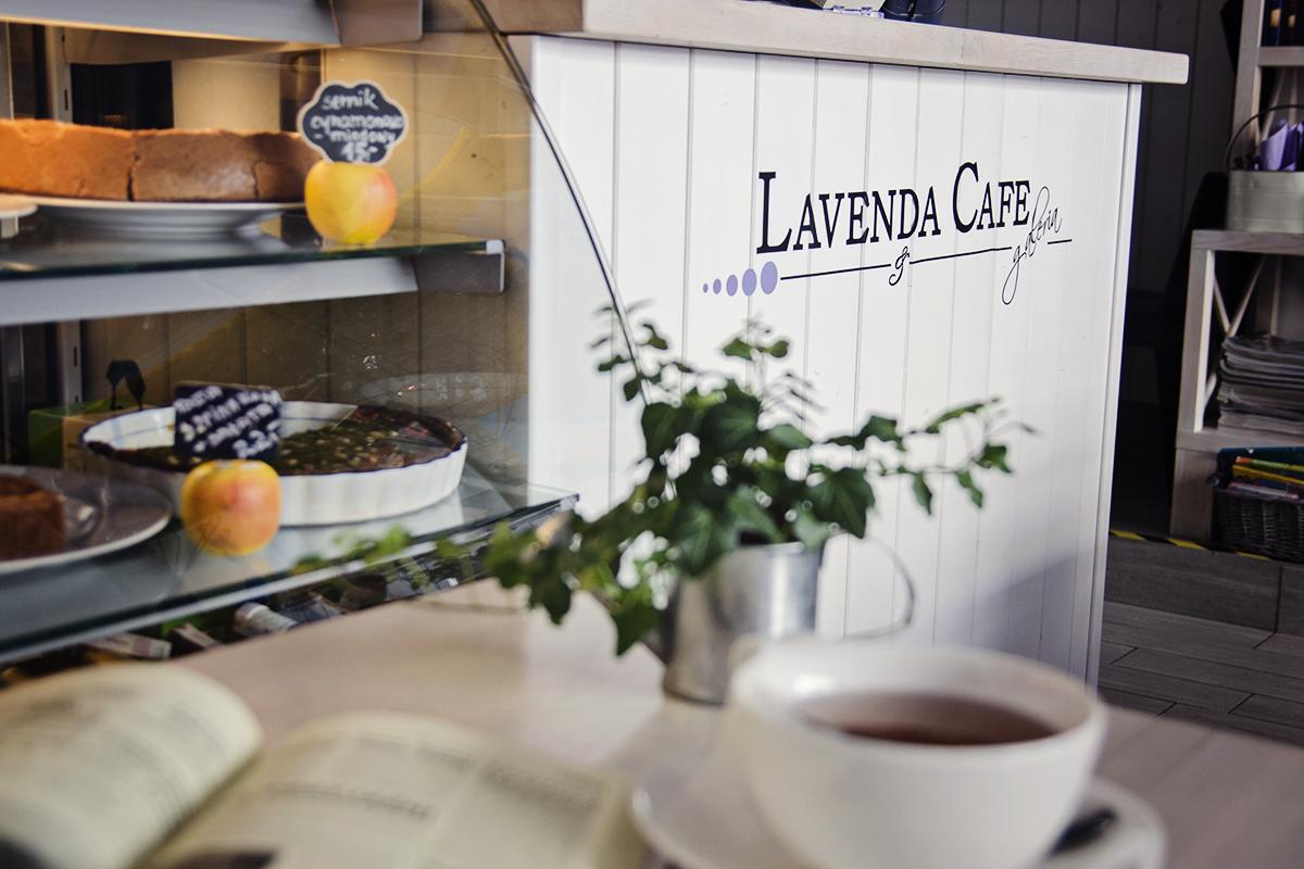 czytanie w lavenda cafe