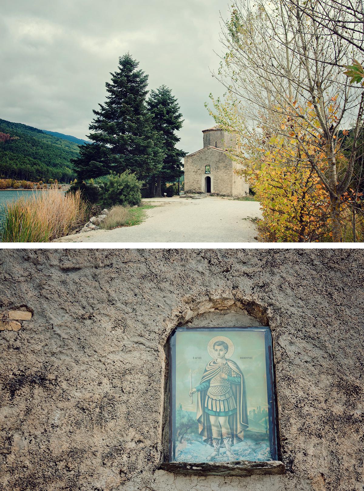 kapliczka na półwyspie
