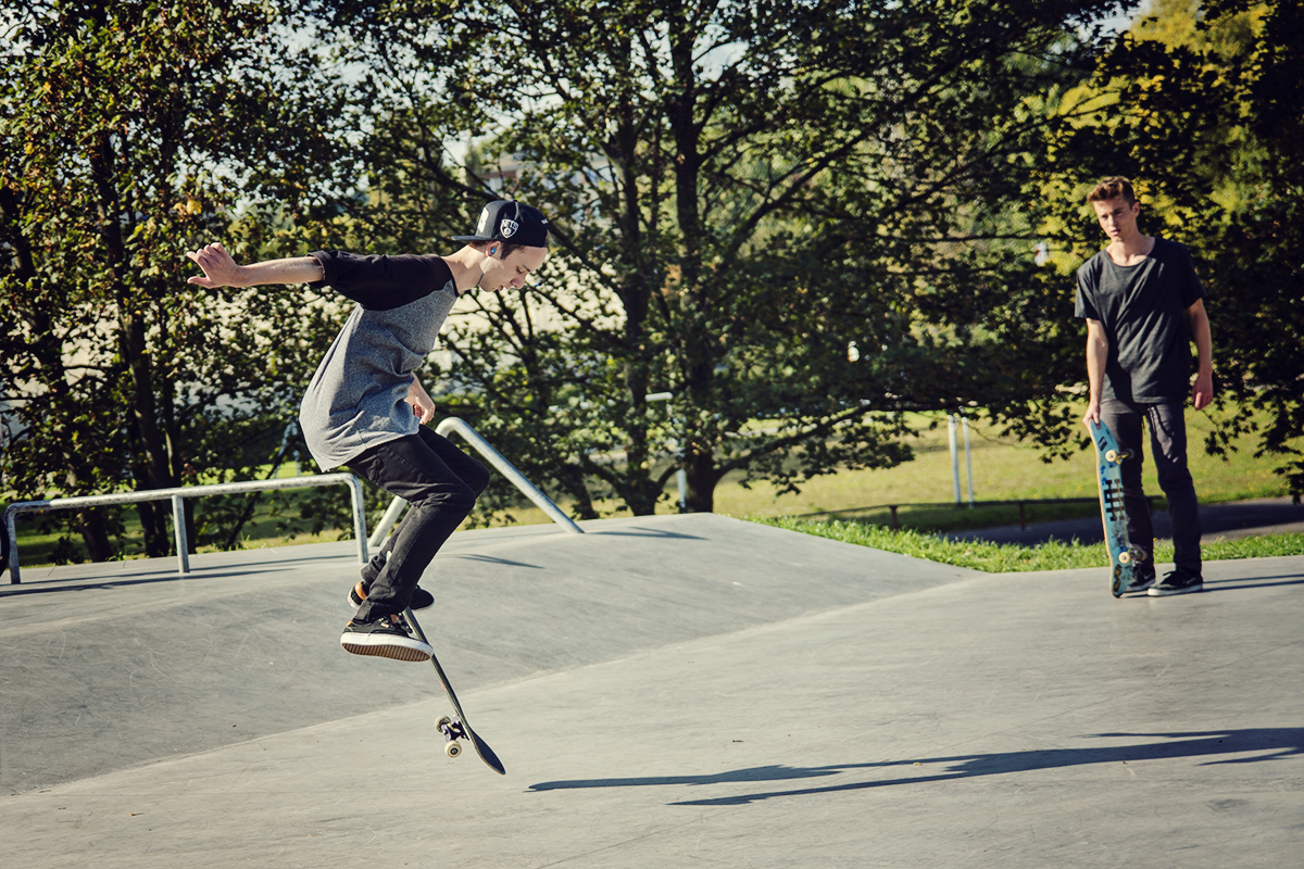 skatepark w Gdyni