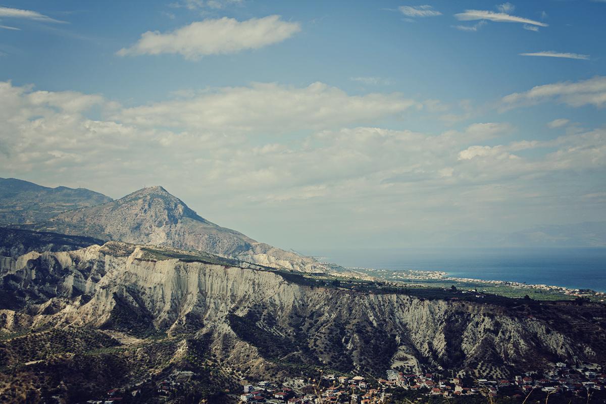Zatoka koryncka i góry
