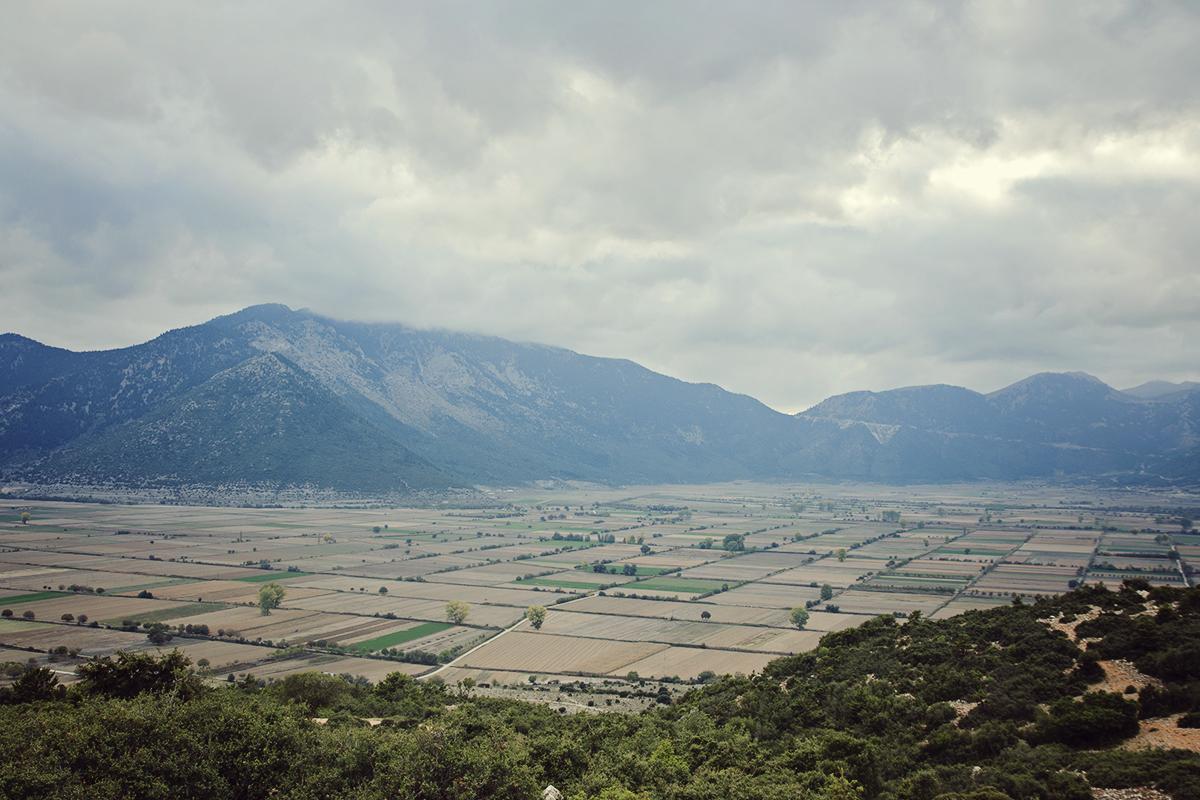dolina w gorach