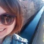 selfie na kanale isthmia