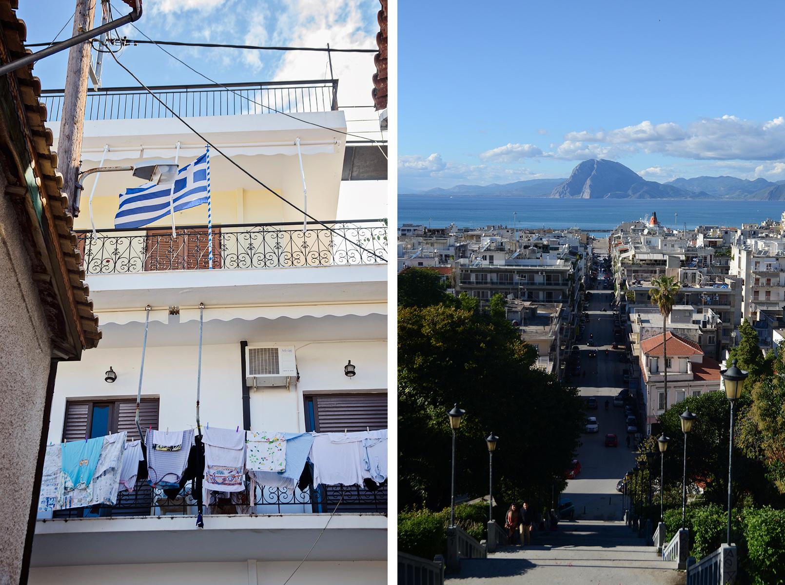Górne miasto Patras