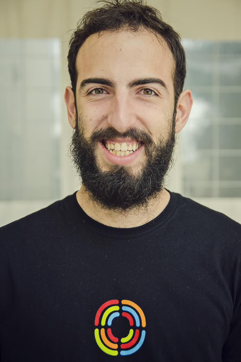 wolontariusz z Hiszpanii