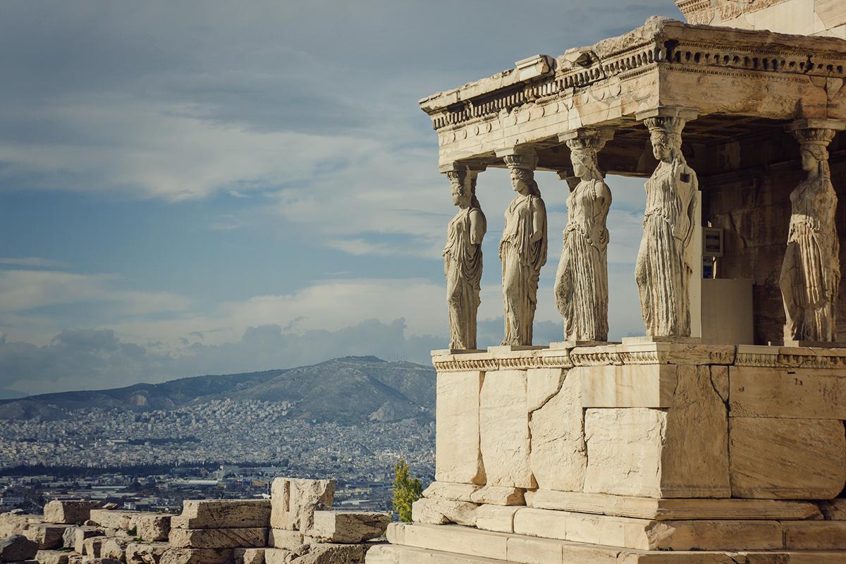 swiatynia na akropolu