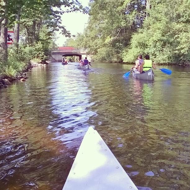 szwedzkie kanoe